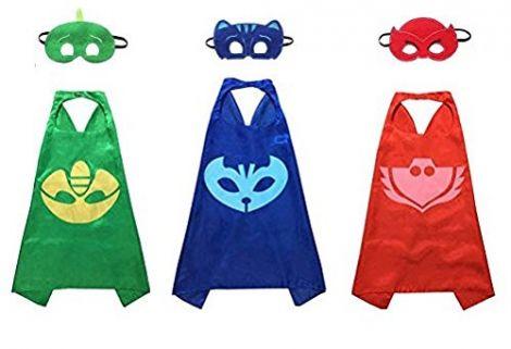 Super Hero Capes Satin (PJ Mask Set)