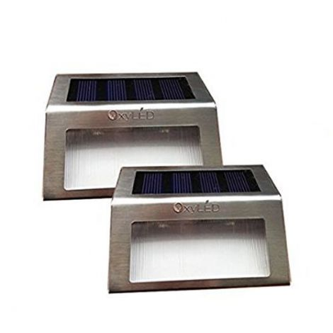 OxyLED Solar Powered Stainless LED Solar Step (SL05)