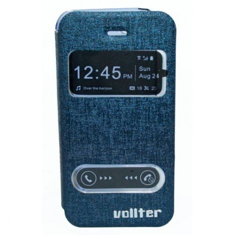 Vollter Θήκη για Iphone 4 & 4S Μπλέ (50533)