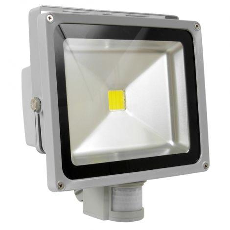 Vivalux Led Προβολέας με αισθητήρα 10W (SOLID LED)