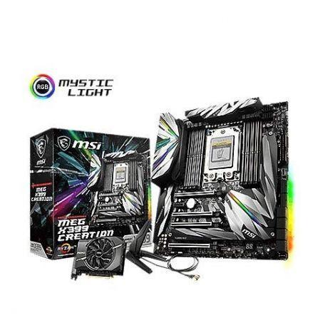 MSI Meg X399 Creation Socket TR4 DDR4