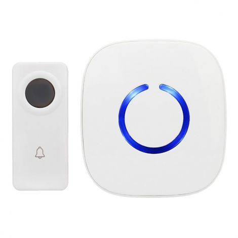 Crosspoint Expandable Wireless Doorbell Operating at over 500-feet Range with Over 50 Chimes