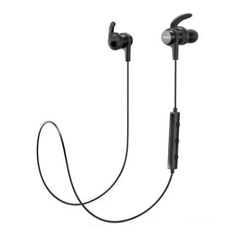 Anker Bluetooth Headphones SoundBuds Flow In-Ear Buds Magnetic Headset with Microphone (AK-A3234011)