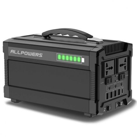 ALLPOWERS 288WH/78000 MAHPortable Solar Generator Power Inverter 220V AC (AP-SS-003)