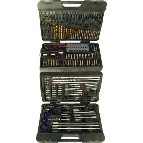 Silverline Assorted Drill Bit Set - 204 Pieces (868762)