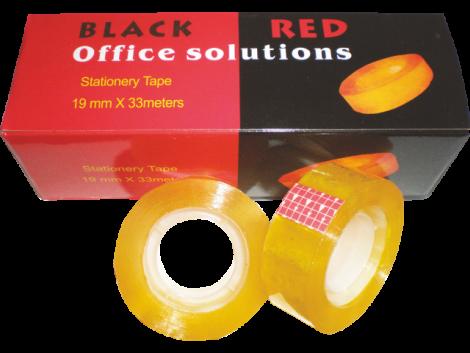 ΣΕΛΟΤΕΙΠ 12ΜΜ BLACK-RED ΚΟΥΤΙ 12 ΤΕΜ (BR00095)