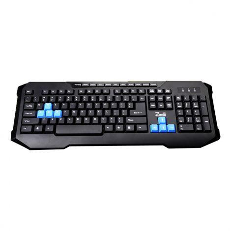 Gaming keyboard, ZornWee X6 Soldier, Multimedia, USB,  Black - 6058