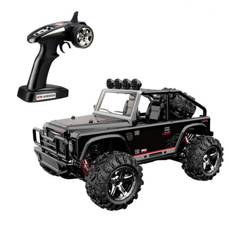 SZJJX RC Trucks 45KM/H+ High Speed Racing Remote Control Monster Cars 1/22 Scale 4WD 2.4Ghz Radio Controlled Fast Electric Desert Buggy SJ1511 (black)
