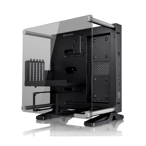 Core P1 TG (Tempered Glass) Wall Housing Desktop PC Case