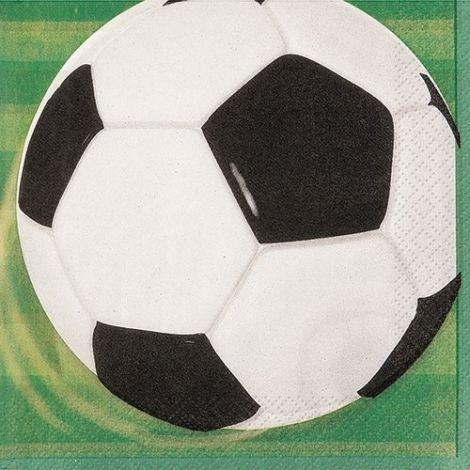 Χαρτοπετσέτες ποδοσφαίρου, πακέτο 16 τεμ.