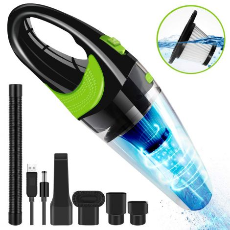 Vacuum Cleaner Wireless with Wet & Dry Function, Wireless,120W 2700mAh 12V 6500pa HEPA Filter