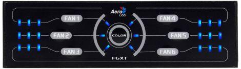 Aerocool F6XT Case Fan Controller