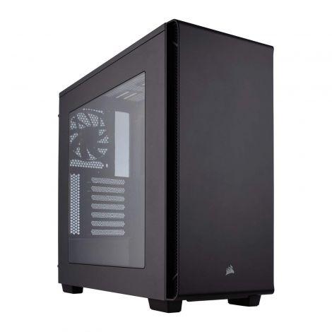 Corsair CC-9011105-WW Carbide Series 270R Windowed Mid-Tower ATX/Micro ATX Performance Computer Case - Black