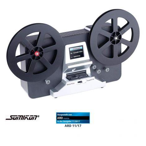 Somikon HD XL Film Scanner & Digitizer For Super 8 & 8 mm stand-alone