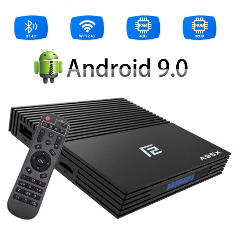 Android TV Box, A95X F2 4GB RAM/32GB ROM