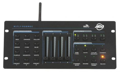 American DJ 1226100258 WiFly RGBW8C Light Mixers