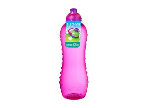 Sistema Twist 'N' Sip outdoor water bottle - 620ml (Pink)