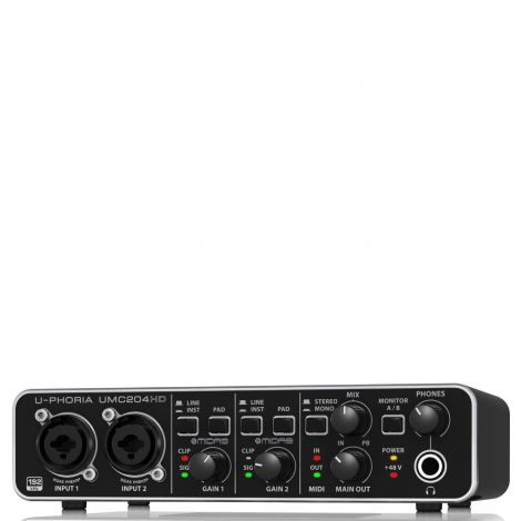 U-PHORIA UMC204HD Audio Interface