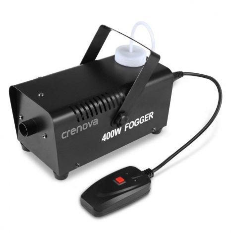 Crenova Smoke Machine 400W with Wired Remote Control Stage Equipment (FM-03)