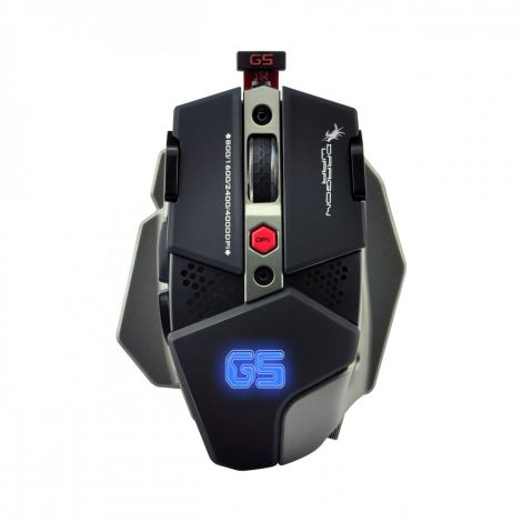 Dragon War WarLord G5 Macro Wired Gaming mouse, Black - 625