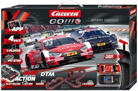 Carrera car racing track set,plus DTM speed record 20066009