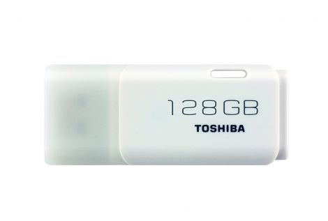 Toshiba TransMemory U202 128GB USB Flash Drive USB 2.0 - White (THN-U202W1280E4)