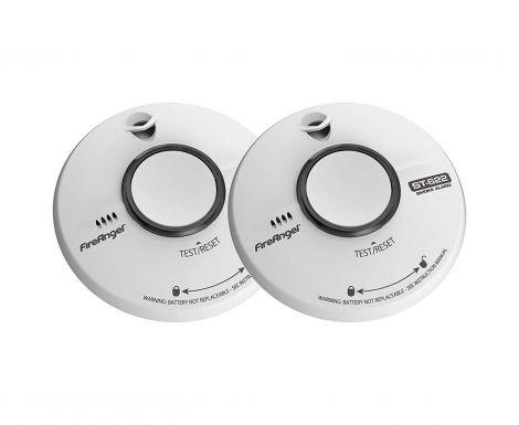 FireAngel TST-622Q Smoke Alarm (2 Pack)