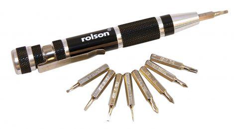 Rolson 9 in 1 Precision Screwdriver (28226)