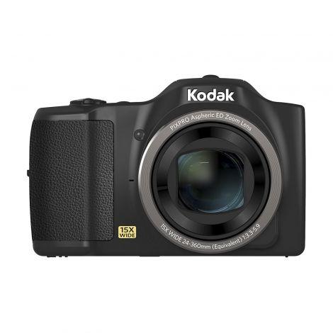 Kodak PIXPRO FZ152 Camera - Black (16MP 15x Zoom 24mm Wide Lens OIS HD)