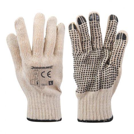 Silverline Γάντια με PVC Τελείες (196545)