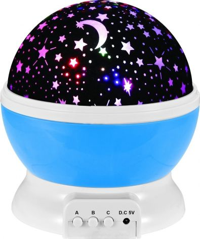 LED Φωτεινός Προβολέας Αστεριών - Μπλέ