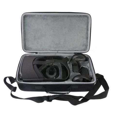 Hard travel protection case pouch for Oculus Quest All-in-one VR Gaming Headset 64GB / 128GB from co2CREA