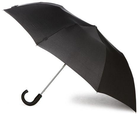 Fulton Αντρική Ομπρέλα Μαύρη