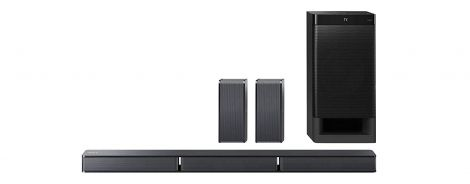 Sony HT-RT3 5.1-channel soundbar with 600W output power, NFC and Bluetooth (black)