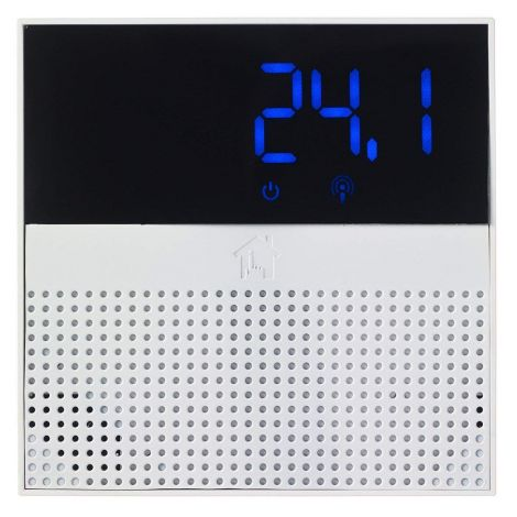 Mihome MIHO069 Smart Thermostat, White (works with MI Home, Google Home and Alexa)