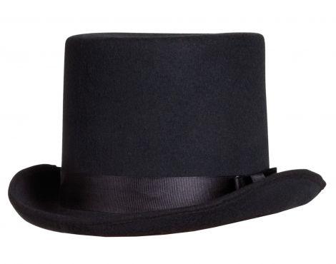 Black Heavy Quality Byron Top Hat