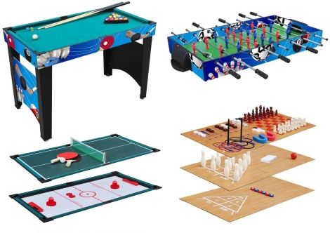 KMH®, multifunctional Game Table 12 in 1