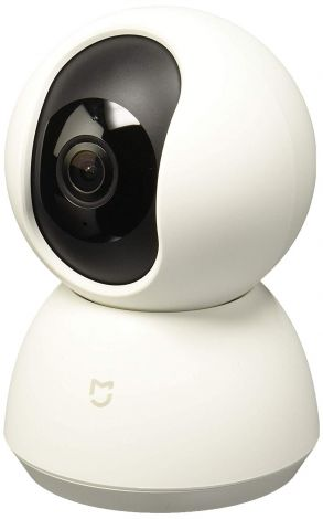 Xiaomi MI Home Security Camera 360 White (works with MI Home, Google Home and Alexa)