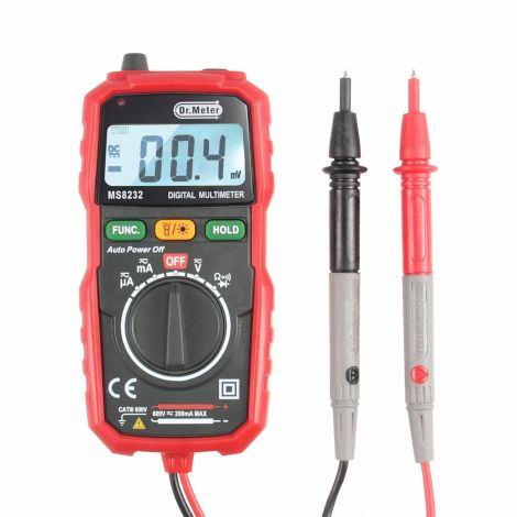 Dr.Meter Pocket Digital Multimeter (MS8232)