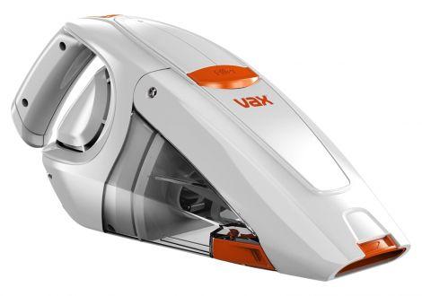 Vax Ασύρματο Σκουπάκι Xειρός 0,3L Λευκό/Πορτοκαλί (H85-GA-B10)