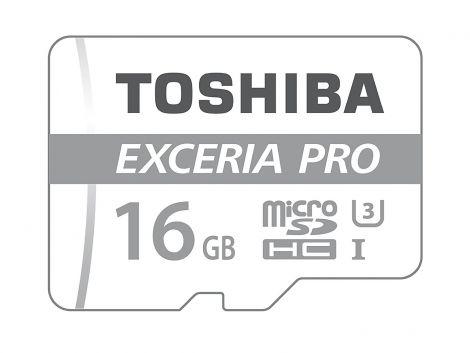 Toshiba THN-M401S0160E2 16GB EXCERIA PRO M401 MicroSD Card 80MB/s Write Speed