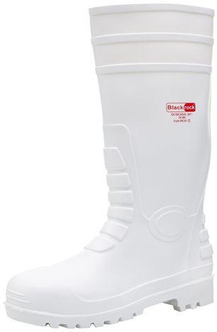 Blackrock Unisex SRC05 Γαλότσες Ασφάλειας S4 Λευκές No 44