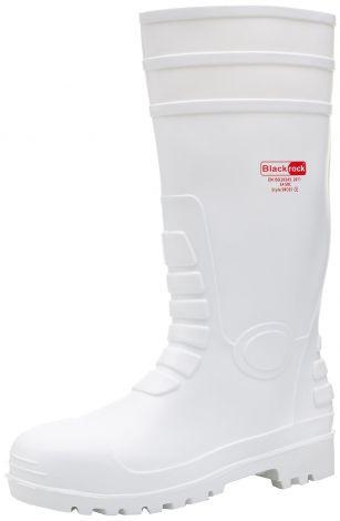 Blackrock Unisex SRC05 Γαλότσες Ασφάλειας S4 Λευκές No 42