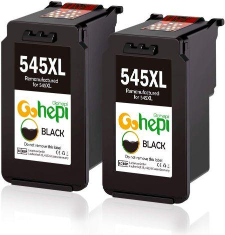 Gohepi Canon PG-545XL/CL-546XL Ink Cartridges  ( color black )