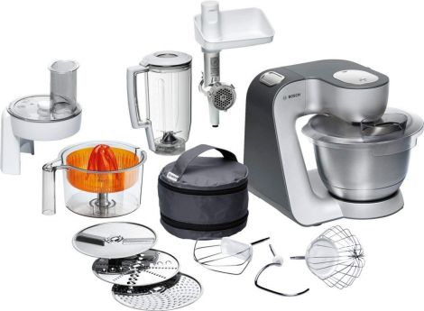 Bosch Styline MUM56340 - food processor 900 W (silver)