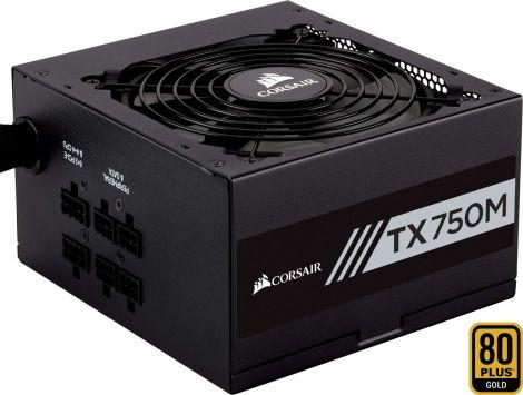 Corsair TX750M 750W Power Supply ATX PC CP-9020133-EU TX-M