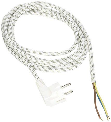 Kopp Iron Cable 2 m White/Gray ZltF3G0,75mm² (140803091)