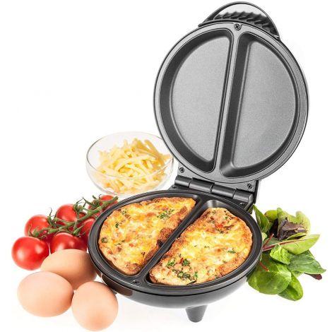 Savisto Electric Omelette Maker 750 Watt Non-Stick Egg Cooker