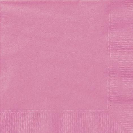 Ροζ χαρτοπετσέτες 6.5'', συσκευασία των 20 τεμ.