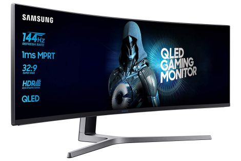 SAMSUNG C49HG90DMU Curved Gaming Monitor, 124.20 cm (49 Inches)